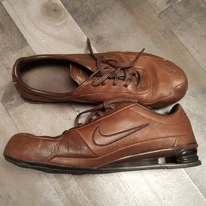 Rare Brown Men Nike Shocks
